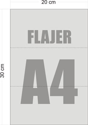 Flajeri A4